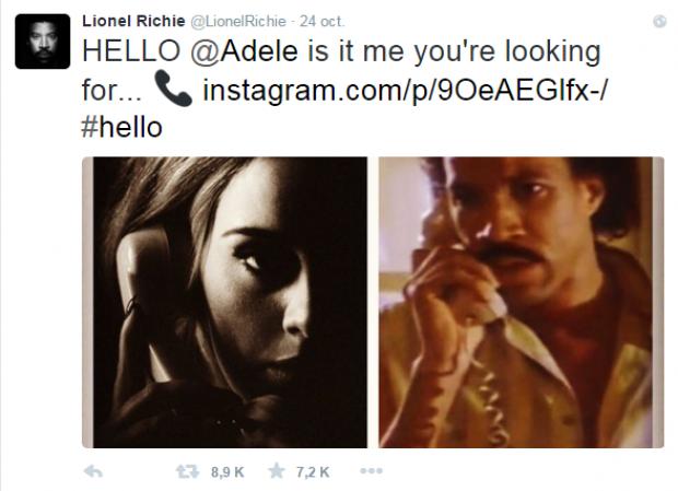 Viu A Brincadeira Que Lionel Richie Fez Com A Cantora Adele Livepass